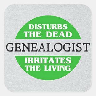 Adesivo Quadrado O Genealogist perturba o inoperante…