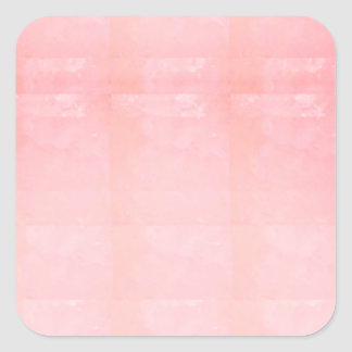Adesivo Quadrado O MODELO cor-de-rosa de cristal da faísca de prata