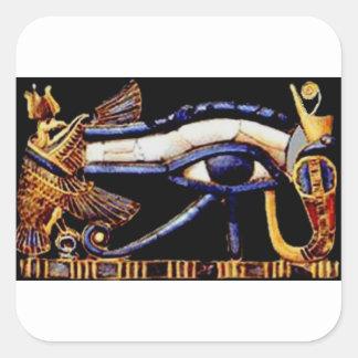 Adesivo Quadrado O olho egípcio de Horus