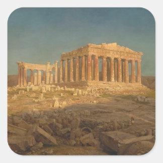 Adesivo Quadrado O Partenon