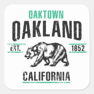 Adesivo Quadrado Oakland