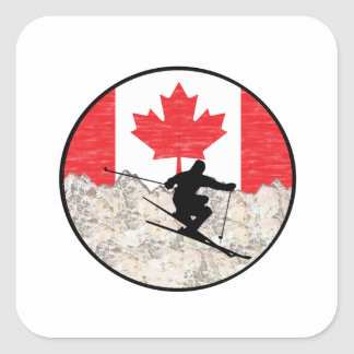 Adesivo Quadrado Oh Canadá