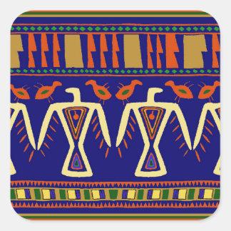 Adesivo Quadrado Ojibway Eagles