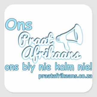 Adesivo Quadrado ONS-Praat-Holandês
