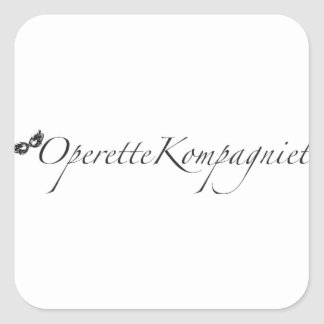 Adesivo Quadrado OperetteKompagniet Dinamarca