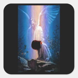 Adesivo Quadrado Oração do anjo