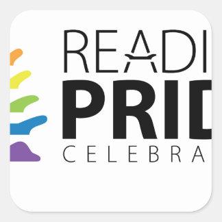 Adesivo Quadrado Orgulho da leitura