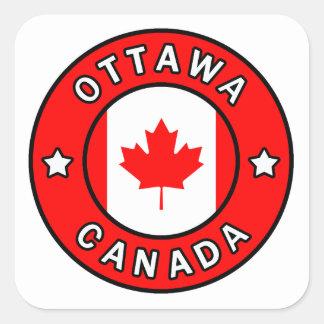Adesivo Quadrado Ottawa Canadá