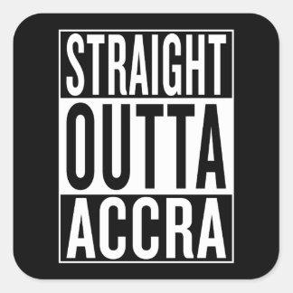 Adesivo Quadrado outta reto Accra