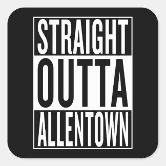 Adesivo Quadrado outta reto Allentown