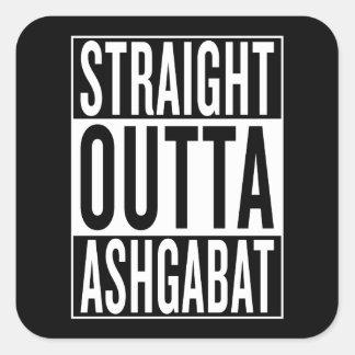 Adesivo Quadrado outta reto Ashgabat