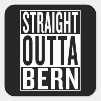Adesivo Quadrado outta reto Berna