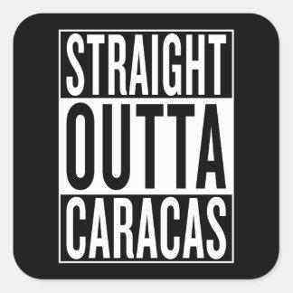 Adesivo Quadrado outta reto Caracas