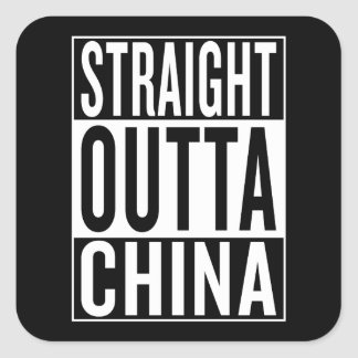 Adesivo Quadrado outta reto China