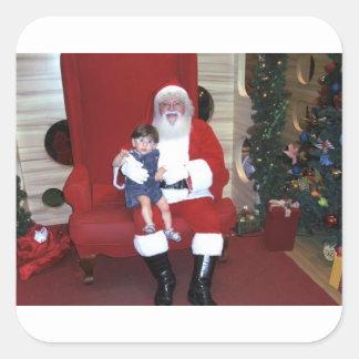 Adesivo Quadrado Papai_noel_-_santa_claus_