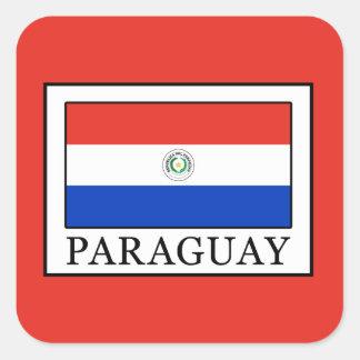 Adesivo Quadrado Paraguai
