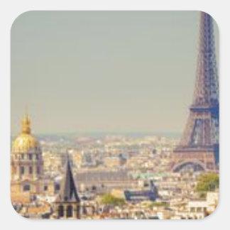 Adesivo Quadrado paris-in-one-day-sightseeing-tour-in-paris-130592.