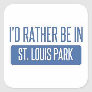 Adesivo Quadrado Parque de St Louis