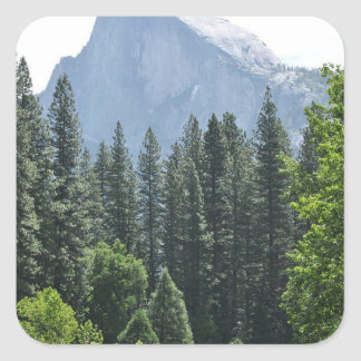Adesivo Quadrado Parque nacional de Yosemite