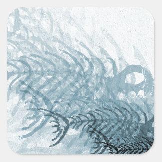 Adesivo Quadrado Peixes e ossos