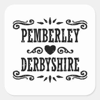 Adesivo Quadrado Pemberley Derbyshire