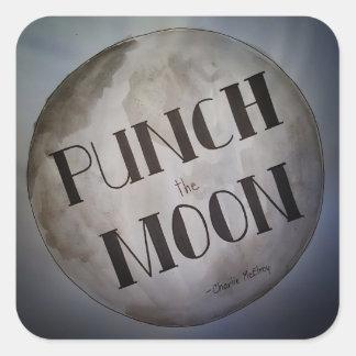Adesivo Quadrado Perfure os produtos da lua