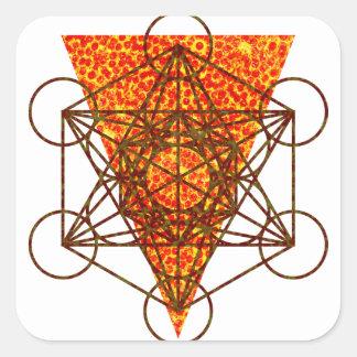 Adesivo Quadrado pizzametry sagrado