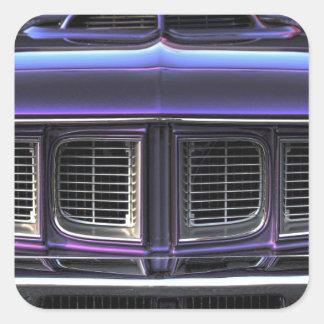 Adesivo Quadrado Plymouth 1971 'Cuda