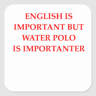 Adesivo Quadrado pólo aquático