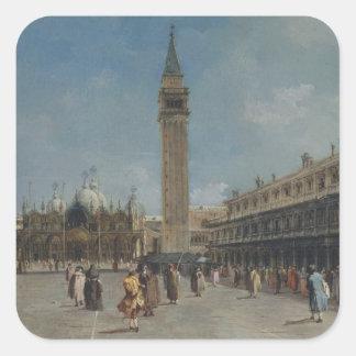 Adesivo Quadrado Praça San Marco