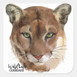 Adesivo Quadrado Puma