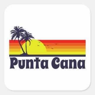 Adesivo Quadrado Punta Cana