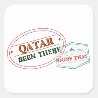 Adesivo Quadrado Qatar feito lá isso