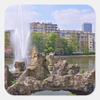 Adesivo Quadrado Quadrado de Marie-Louise em Bruxelas, Bélgica