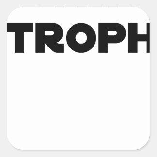 Adesivo Quadrado QUATAR ESTROFE - Jogos de palavras - François