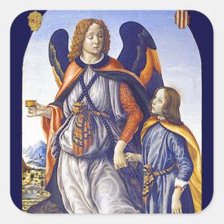 Adesivo Quadrado Raphael do santo de San Rafael