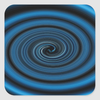 Adesivo Quadrado Redemoinho abstrato