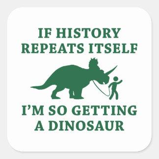 Adesivo Quadrado Repetições da história