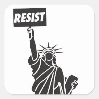Adesivo Quadrado Resist_for_Liberty