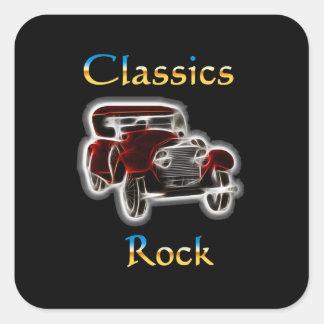 Adesivo Quadrado rocha 2 dos clássicos