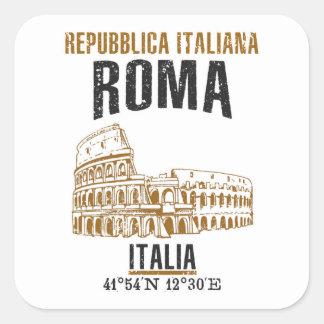 Adesivo Quadrado Roma