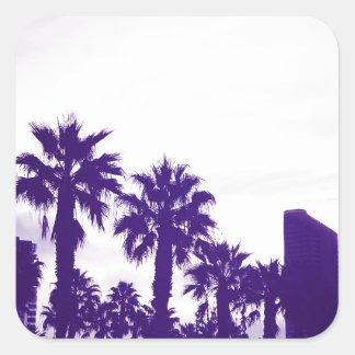 Adesivo Quadrado Roxo de San Diego