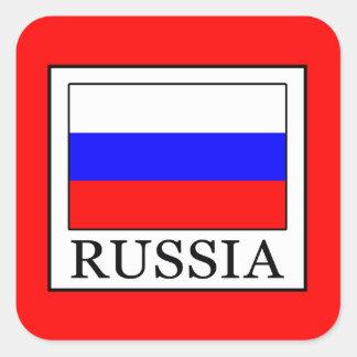 Adesivo Quadrado Rússia