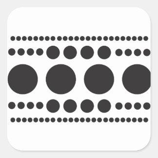 Adesivo Quadrado Salto-UM-Ponto
