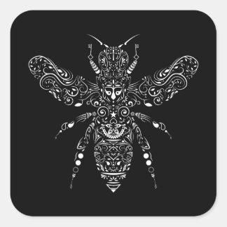 Adesivo Quadrado salvar as abelhas