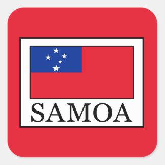 Adesivo Quadrado Samoa