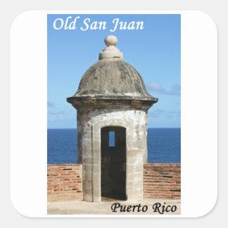 Adesivo Quadrado San Juan velho