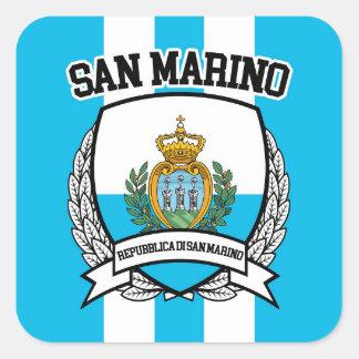 Adesivo Quadrado San Marino