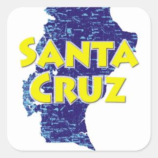 Adesivo Quadrado Santa Cruz