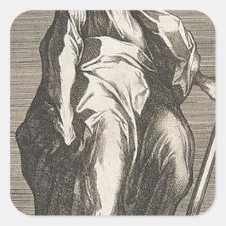 Adesivo Quadrado Santo Jude (ou santo Matthias)